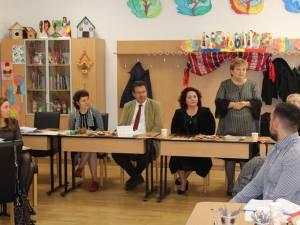Violeta Țăran a fost prezentă la lucrările reuniunii manageriale găzduită de Şcoala din Berchișești