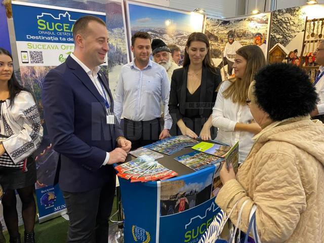 """Lansarea aplicației """"SuceavaCityApp"""" la Târgul de Turism al României"""