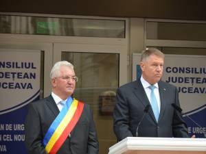 Ion Lungu cheamă sucevenii să voteze masiv pentru Klaus Iohannis