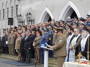"""Festivitatea de aniversare a 95 de ani a Colegiul Naţional Militar """"Ştefan cel Mare"""" din Câmpulung Moldovenesc Foto: Miruna Modiga"""