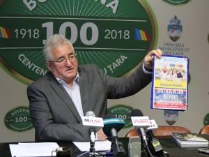 """Ion Lungu: """"Spectacolul <Acasă-i România> este oferit gratuit sucevenilor de Ziua Bucovinei"""""""