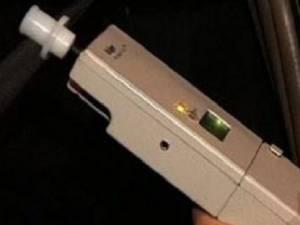 Bărbatul a fost testat cu aparatul etilotest, rezultatul fiind de 0,96 mg/l alcool pur în aerul expirat
