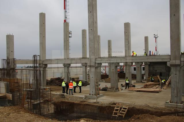 Terminalul nou al Aeroportului Suceava va fi finalizat în luna mai a anului viitor