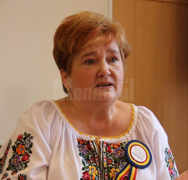 Gabriela Mihai, șefa Inspectoratului Școlar Judeţean Suceava