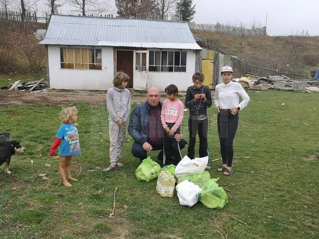 O familie cu 10 copii minori din Râșca are nevoie de ajutor