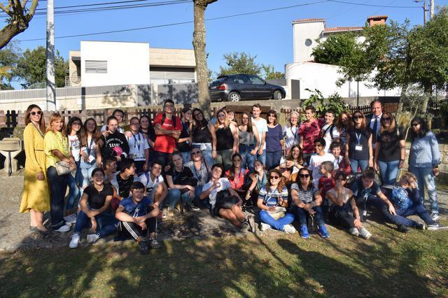 """Mobilitate în Portugalia în cadrul proiectui Erasmus + derulat  de Școala Gimnazială """"George Voevidca"""""""