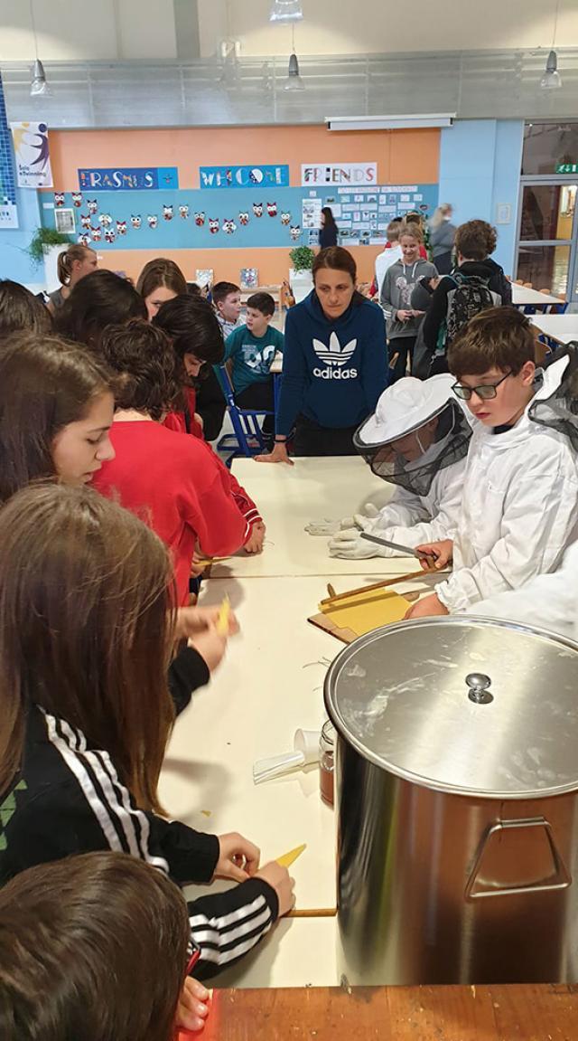 """Elevi ai Şcolii Nr. 4 Suceava, în parteneriat de schimb interşcolar în Slovenia, în cadrul proiectului Erasmus+ """"Change your lifestyle!"""""""