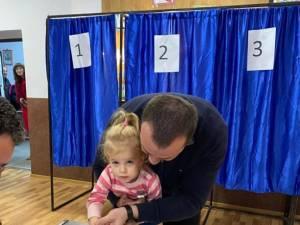 Lucian Harșovschi a votat pentru ca tinerii să nu mai plece din România