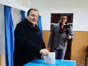 Gheorghe Flutur a votat pentru un preşedinte care va scoate Moldova şi Suceava din izolare