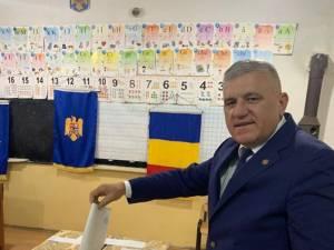 Dumitru Mihalescul a votat pentru o Românie educată