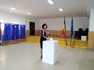 Angelica Fădor a votat pentru o Românie educată