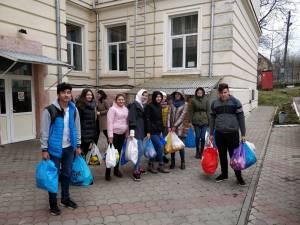"""Elevii de la Liceul Tehnologic """"Tomşa Vodă"""" Solca"""