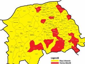 În turul al doilea al alegerilor prezidenţiale din 2019 PNL și Klaus Iohannis au câştigat în 93 de localități