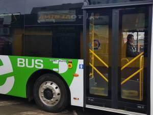 Autobuzul electric testat anul trecut pe strazile Sucevei