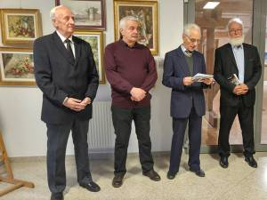 """Expoziția """"Lumini și umbre"""", organizată de Grupul Artistic Independent Domino, la Muzeul de Istorie Suceava"""