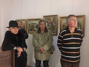 """Rodica Cosovan, la Expoziția """"Lumini și umbre"""", organizată în memoria soțului ei, Tiberiu Cosovan"""