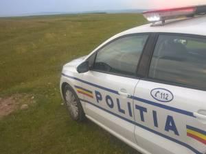 Fugarul a fost prins în urma colaborării dintre două echipaje de poliție