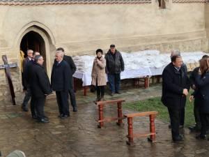 Familia , prietenii și colegii de partid alaturi de fostul viceprimar și consilier local Bogdan Bicsi, pe ultimul drum 3