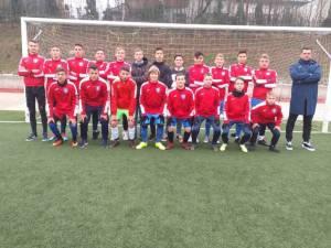 Echipa de juniori B1 a LPS Suceava