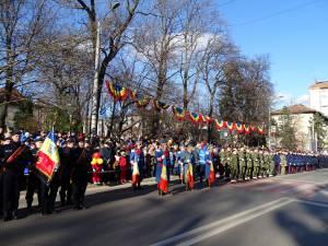Parada de 1 Decembrie, din centrul Sucevei, a fost urmarită de mii de oameni 6