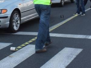 Trei copii au fost victimele unor accidente, în timp ce traversau regulamentar strada