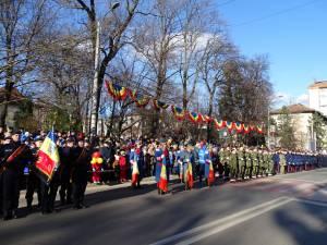 Mii de suceveni au participat la manifestările organizate de Ziua Naţională