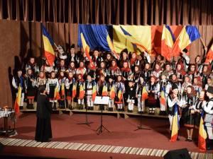Evenimentele de Ziua Naţională au inclus și un concert de cântece patriotice