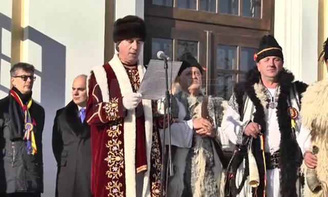 Dulgheru, conducătorul soliei Cetăţii Sucevei la Alba Iulia, pentru al zecelea an