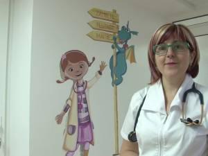 Șeful secţiei Boli infecţioase, dr. Monica Terteliu