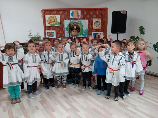 Ziua Națională, celebrată la Grădinița Prichindel