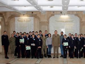 Elevi din Suceava și Iași, cadeți pentru o săptămână la Colegiul Militar
