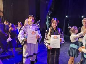 Eduard-Viorel Scheuleac și Denisa-Georgiana Apetre au obținut Premiul I și felicitări din partea organizatorilor
