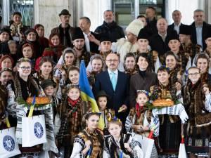 O delegaţie din Bucovina a fost primită la Guvernul României de Ziua Naţională