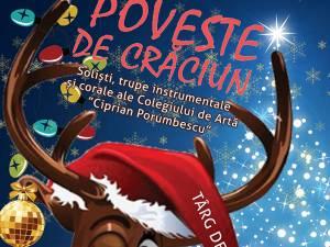 """""""Poveste de Crăciun"""", pusă în scenă de elevii Colegiului de Artă """"Ciprian Porumbescu"""""""