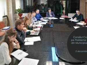 Întrunirea Consiliului Consultativ pe Probleme de Tineret din municipiul Suceava