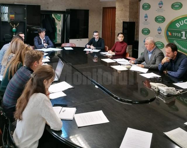 Întrunirea Consiliului Consultativ pe Probleme de Tineret al Municipiului Suceava