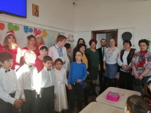 Elevii Școlii Gimnaziale Nr. 1 i-au primit în vizită pe colegii lor de la  Centrul de Educație Incluzivă Suceava