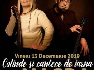 Concert de colinde și cântece de iarnă cu Magda Pușkaș și Rareș Suciu, la Ariata Events