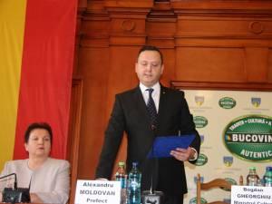 Noul prefect al județului Suceava, Alexandru Moldovan, a fost instalat oficial în funcție