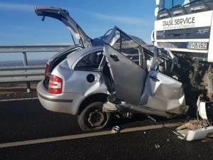 Accident mortal pe sectorul şoselei de centură a Sucevei dat în folosinţă anul acesta
