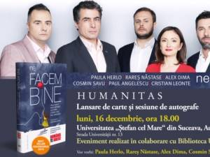 """""""Ne facem bine. O antologie de fapte extraordinare văzute şi vorbite la <România, te iubesc!>"""""""