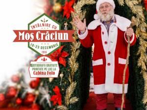 Întâlniri cu Moş Crăciun, la Shopping City Suceava