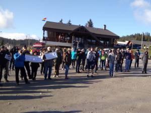 Protest Mestecăniș
