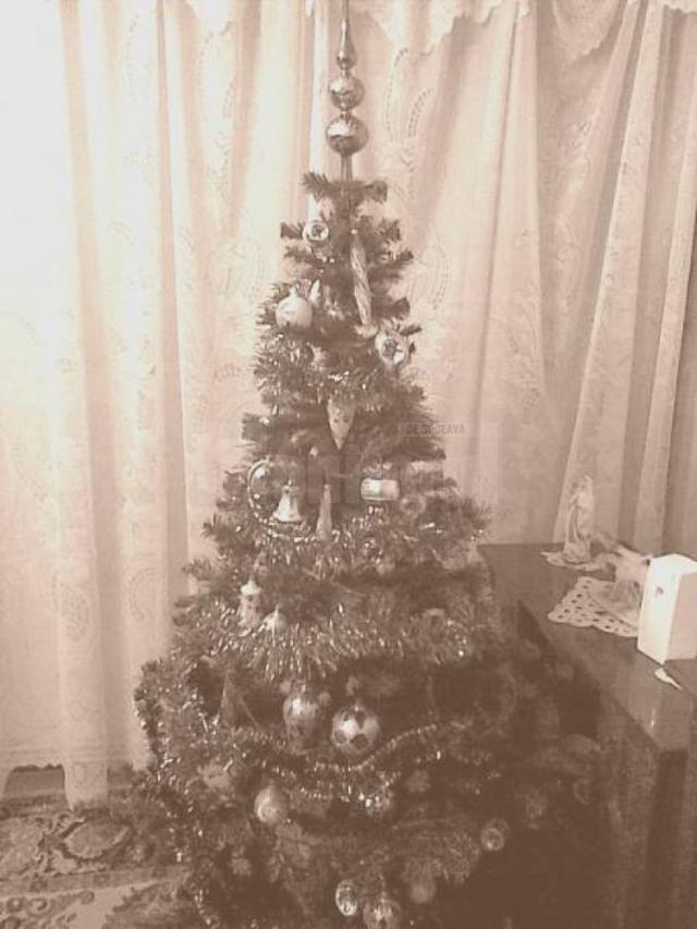 Între Moş Gerilă şi Moş Crăciun. Fotografii rare cu oraşul Suceava împodobit de sărbători