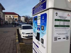 Parcări cu plată, introduse pe străzile Vasile Bumbac şi Nicolae Bălcescu