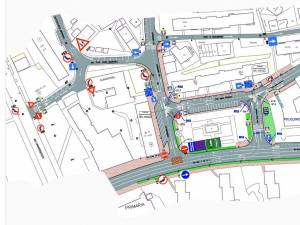 Proiectele care reglementează noile sensuri unice și restricțiile de trafic din zona Areni