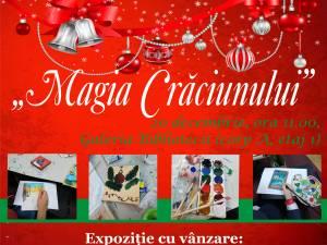 """Expoziţia cu vânzare """"Magia Crăciunului"""", la Biblioteca Bucovinei"""