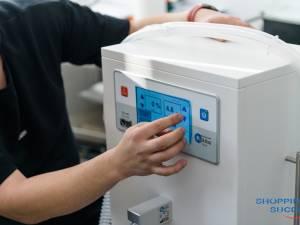 Secția de Pediatrie a fost dotată cu patru aparate medicale, în valoare totală de 13.000 de euro, în urma unei sponsorizări făcută de Shopping City Suceava