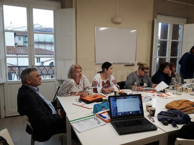 Patru cadre didactice de la Şcoala Gimnazială Nr. 6 Suceava, la Florenţa, în cadrul proiectului Erasmus +