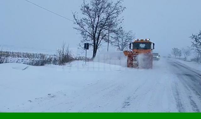 Drumul judeţean Suceava - Berchişeşti, aproape blocat în zona Drăgoieşti – Măzănăieşti